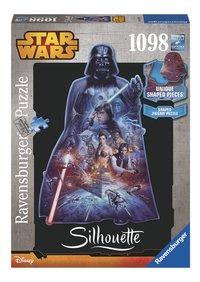 Ravensburger puzzle Disney Star Wars Silhouette Dark Vador