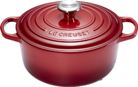 Le Creuset ronde stoofpan Signature burgundy