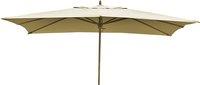 Parasol de luxe en bois FSC 2 x 3 m sable