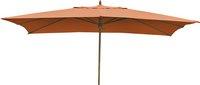 Parasol de luxe en bois FSC 2 x 3 m terracotta-Avant