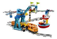 LEGO DUPLO 10875 Le train de marchandises-Avant