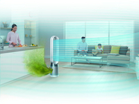Dyson Purificateur d'air Pure Cool Tower avec fonction ventilateur-Image 2
