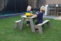 EXIT zand-, water- en picknicktafel Aksent met 2 banken-Afbeelding 1