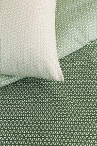 Beddinghouse Dekbedovertrek Sunkissed green katoen 200 x 220 cm-Artikeldetail