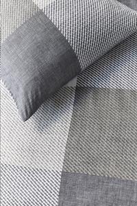 Beddinghouse Housse de couette Jim taupe coton 260 x 220 cm-Détail de l'article