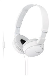 Sony Hoofdtelefoon MDR-ZX110 wit-Vooraanzicht
