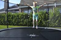 EXIT trampoline enterré avec filet de sécurité Elegant Ground Premium Deluxe Ø 3,05 m vert-Image 2