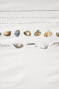 Marjolein Bastin Housse de couette Shelfish white coton 260 x 220 cm-Détail de l'article