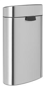 Brabantia Afvalemmer Touch Bin matt steel 40 l-Achteraanzicht
