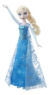 Mannequinpop Disney Frozen Zingende Elsa-commercieel beeld
