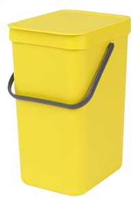 Brabantia Afvalemmer Sort & Go geel 12 l