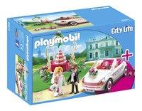 Playmobil City Life 6871 Starter Set 'Couple de mariés avec voiture'