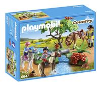 Playmobil Country 6947 Cavaliers avec poneys et cheval-Avant