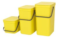Brabantia Poubelle Sort & Go jaune-Avant