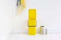Brabantia Poubelle Sort & Go jaune 12 l-Image 1