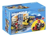Playmobil City Action 6869 Starter Set /Atelier de karting/-Avant