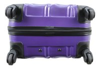Transworld Harde trolleyset Curty Spinner purple-Onderkant