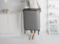 Brabantia Poubelle Touch Bin Bo Hi mineral concrete grey 2 x 30 l-Image 5