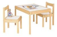 Tafel met 2 stoelen voor kinderen Olaf