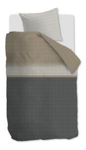Beddinghouse Dekbedovertrek Bardot anthracite katoen 140 x 220 cm-Vooraanzicht