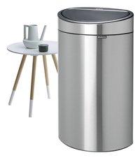 Brabantia Afvalemmer Touch Bin matt steel 40 l-Afbeelding 4
