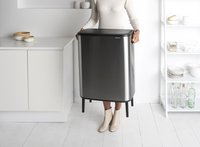 Brabantia Poubelle Touch Bin Bo Hi matt steel fingerprint proof 60 l-Image 6