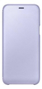Samsung Wallet Cover voor Galaxy A6 paars-Vooraanzicht