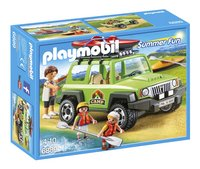 Playmobil Summer Fun 6889 Familieterreinwagen met kajaks-Vooraanzicht