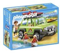 Playmobil Summer Fun 6889 4x4 de randonnée avec kayaks-Avant