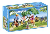 Playmobil Summer Fun 6890 Cyclistes avec vélos et remorque
