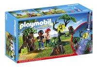 Playmobil Summer Fun 6891 Enfants avec végétation et lampe torche-Avant