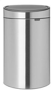 Brabantia Poubelle Touch Bin New Recycle matt steel 10 l + 23 l-Avant