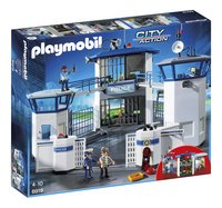 PLAYMOBIL City Action 6919 Commissariat de police avec prison-Avant