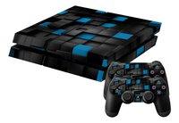 PS4 skins 3D Cubes pour console + 2 skins pour manettes