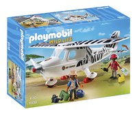 Playmobil Wild Life 6938 Avion avec explorateurs-Avant