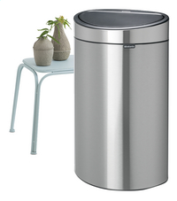 Brabantia Afvalemmer Touch Bin Next Recycle matt steel FPP 10/23 l-Afbeelding 1