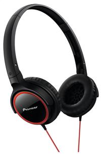 Pioneer casque SE-MJ512 noir/rouge