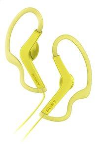 Sony écouteurs MDR-AS210 jaune-Avant