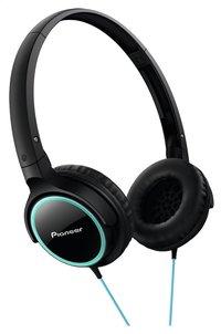 Pioneer hoofdtelefoon SE-MJ512 zwart/turkoois