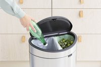 Brabantia Afvalemmer Touch Bin Next Recycle matt steel FPP 10/23 l-Afbeelding 5