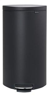 Brabantia Pedaalemmer Pedal Bin FlatBack+ mineral infinite grey 30 l-Vooraanzicht