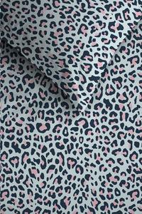 Ambiante Dekbedovertrek Leopard blue katoen 260 x 220 cm-Artikeldetail
