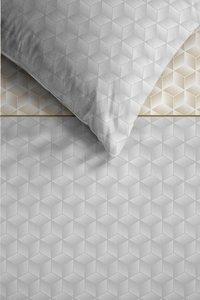 Ambiante Dekbedovertrek Otis grey katoensatijn 260 x 220 cm-Artikeldetail