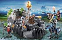 Playmobil Knights 6627 Bastion des chevaliers du Dragon Ailé-Image 1