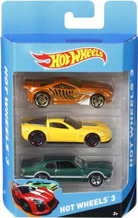 Hot Wheels set de jeu Dragon Blast + pack 3 voitures