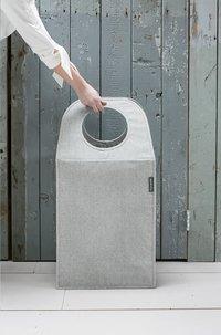 Brabantia Manne à linge grey 55 l-Image 1