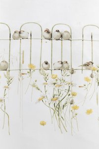 Marjolein Bastin Dekbedovertrek Garden fence natural katoen 240 x 220 cm-Artikeldetail