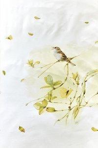 Marjolein Bastin Dekbedovertrek Watercolor twig green katoen-Artikeldetail