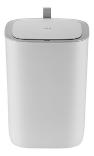 Eko Afvalemmer Morandi sensor wit 12 l-Vooraanzicht