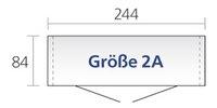 Biohort Tuinhuis met dubbele deur Europa kwartsgrijs 84 x 244 cm-Artikeldetail